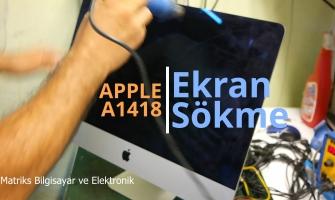 Apple Imac A1418 Ekran Sökme