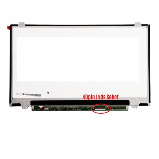 GRUNDIG Uyumlu LP140WH2 (TL) (M2) Laptop Ekran