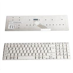 Acer 5830T 5755G V3-531 Uyumlu Beyaz klavye