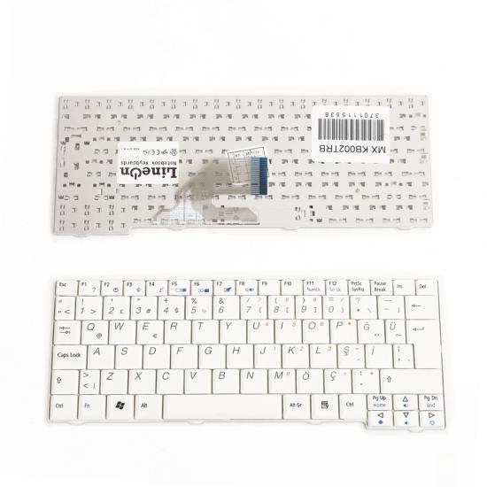 ACER Aspire One A110L Laptop Klavye Beyaz Türkçe