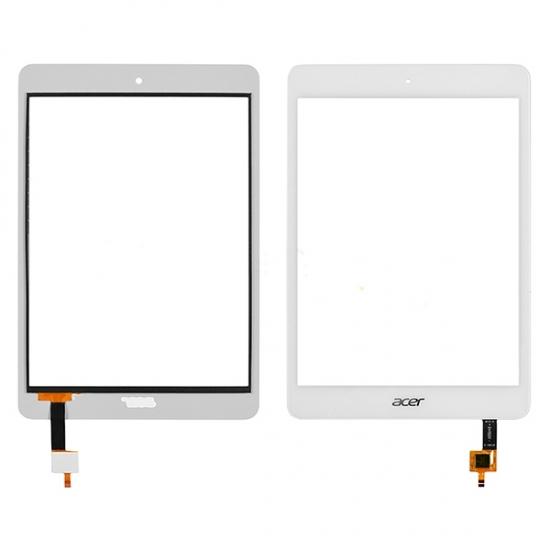 Acer Iconia A1-830 Dokunmatik Panel Ön Cam Beyaz