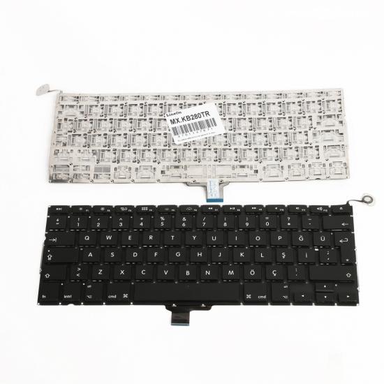 Apple A1278 Klavye Siyah Türkçe