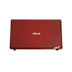 ASUS x550 Cover + Çerçeve Uyumlu Notebook Kasa Kırmızı