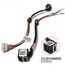 Dell 3521 5521 dc power jack kablolu soket