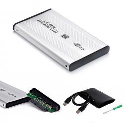 LineOn 2.5 inç Harici HDD Kutusu USB 2.0 Aluminyum