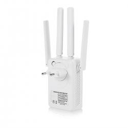 LineOn 300Mbps Wifi Repeater - Router Kablosuz Aktarıcı 4 Antenli