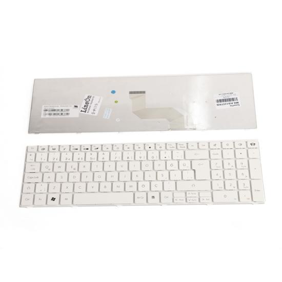 Packard Bell Nsk-Alb0T Klavye Beyaz Türkçe