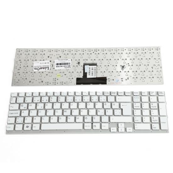 Sony Vaio PCG-71211W Klavye Türkçe Beyaz