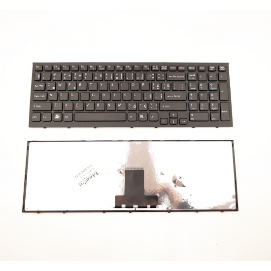 Sony Vaio PCG-71312L Klavye Türkçe Siyah
