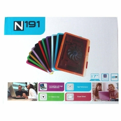 LineOn Tek Fanlı Notebook Altı Fan Stand Soğutucu (7 Renk)