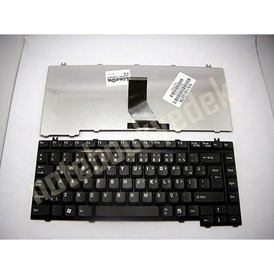 Toshiba Satellite Pro A120-10L Klavye Siyah Türkçe Tuş Takımı