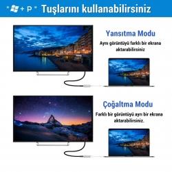 LineOn USB 3.0 to HDMI Görüntü Çevirici Aparat